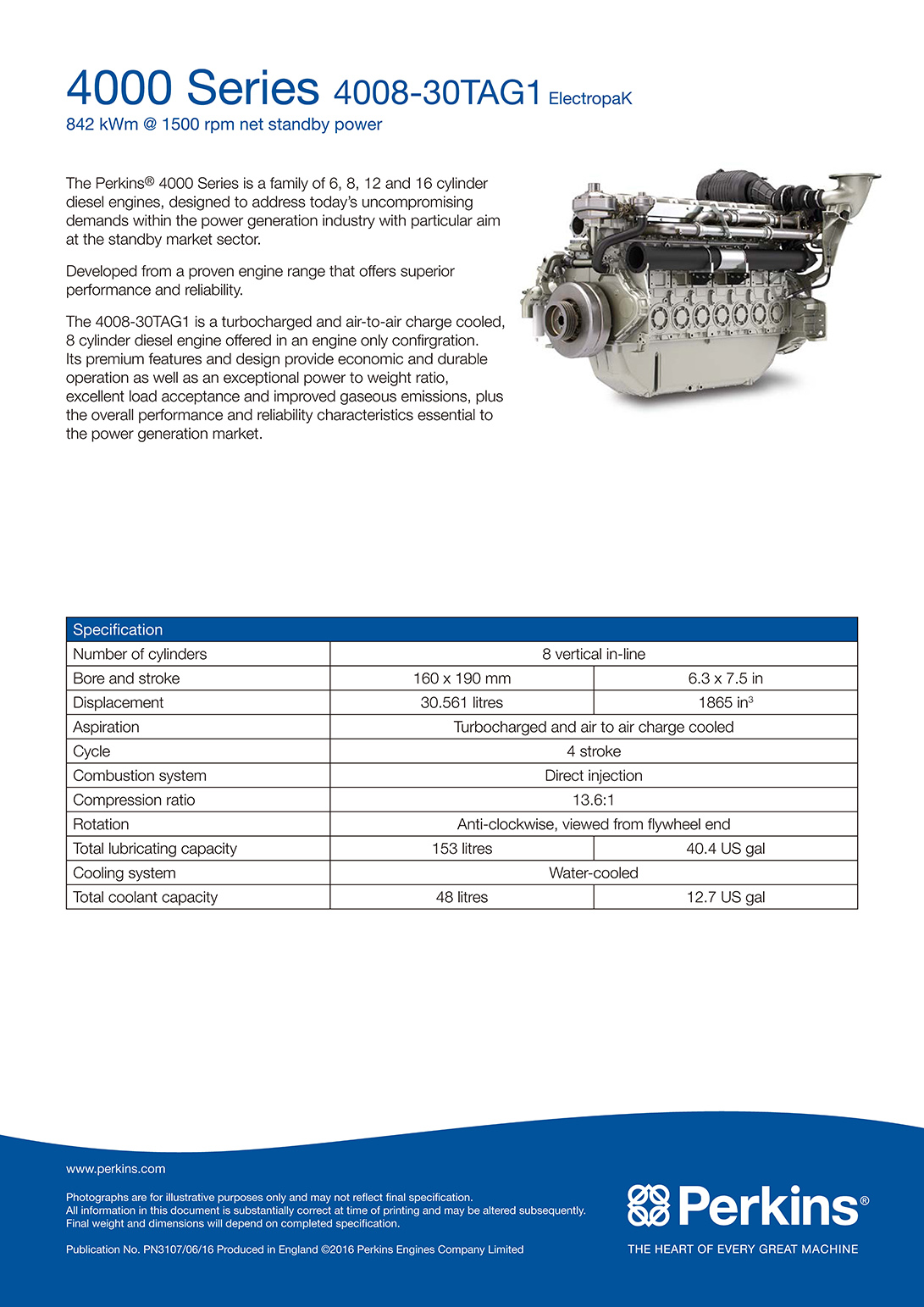 4008-30TAG2 1500 rpm ElectropaK PN3108_SIME DARBY ELCO POWER